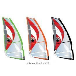 Ezzy Cheetah 2017 Freeride Windsurfing Sail