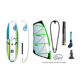 Fanatic Viper Medium and Carbon 60% Power Glide by Ezzy Windsurfing Package