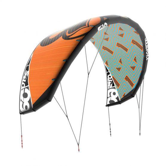 Liquid Force Solo V3 LIGHT STABLE FORGIVING Kiteboarding Kite!