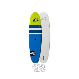 "Amundson Spark SUP Epoxy Paddle Boards 10' 6"""