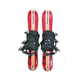 Titan 90 Red Snowblades & Snowboard Bindings
